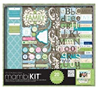 me & my BIG ideas Scrapbooking Box Kit, They'll Always Be My Family, 12-Inch by 12-Inch by Me & My Big Ideas