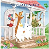 学研ステイフル ムーミン 2017年 カレンダー 壁掛け ムーミンハウス AM13062