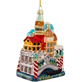 Kurt Adler 5-Inch Venice Cityscape Glass Ornament