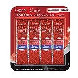 コルゲートColgate Optic White High Impact Whitening Toothpaste 歯磨き粉 127g x 4個 [並行輸入品]