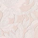 壁紙クロス 1m  リリカラ ナチュラル 花柄  ピンク 水廻り LV-6234