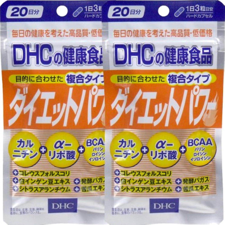 プロット感謝する一握りDHC ダイエットパワー 20日分 60粒 ×2個セット