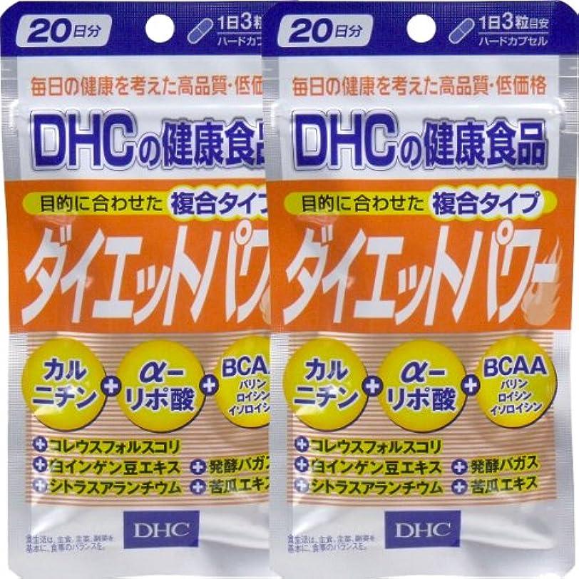 送る噴出する打たれたトラックDHC ダイエットパワー 20日分 60粒 ×2個セット