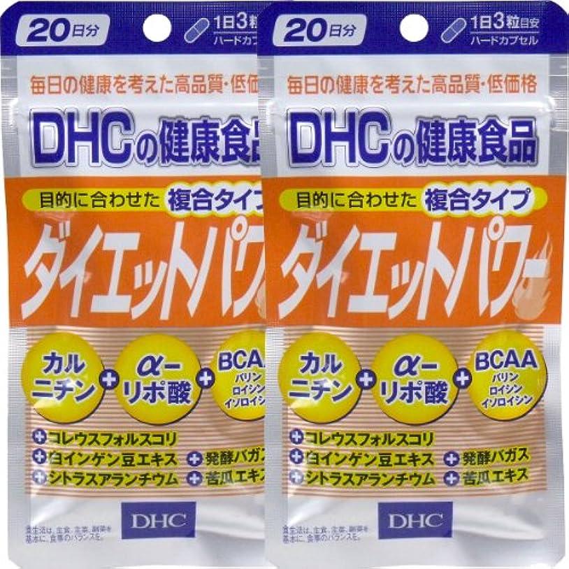 リードさようならマスクDHC ダイエットパワー 20日分 60粒 ×2個セット