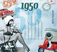 CDCard会社1950–Theクラシック年CD–誕生日カードcdc1637538