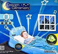 子供用ベッド/ドリームグリマーズゲスト用、さまざまな色、色:青。男の子用