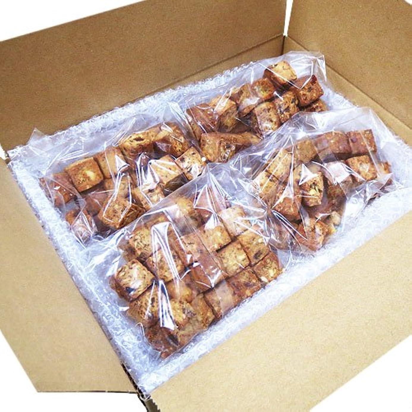 まっすぐ塊ファーム蒲屋忠兵衛商店  大麦と果実のソイキューブ  800g(200g×4袋)