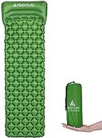 Hikenture Ultralight Sleeping Mat | Backpacking Sleeping Pad with Pillow-Compact Inflatable Camping Air Mattress Pad for...