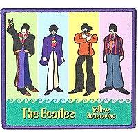 BEATLES ビートルズ (Let It Be 50周年記念) - Yellow Submarine Band in Stripes/ワッペン 【公式/オフィシャル】