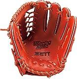 ZETT(ゼット) 野球 軟式 オールラウンド グラブ(グローブ) ウイニングロード (右投げ用) BRGB33650 ディープオレンジ