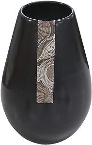 デザイン花瓶 お供え用に最適 陶器花瓶