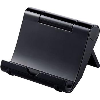 サンワサプライ iPadスタンド(ブラック) PDA-STN7BK