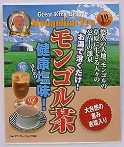 岩塩入りクリーム紅茶 日本初NEWモンゴルティー 10袋