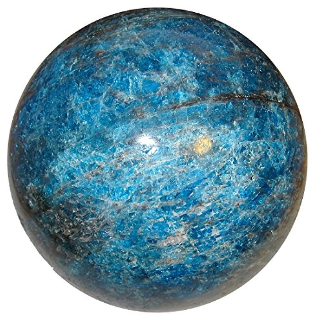 なめらか突き出す現金サテンクリスタルアパタイトボール3.3