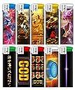ミリオンゴッドシリーズ 神々のライター 全10種セット ミリオンゴッド 電子ライター