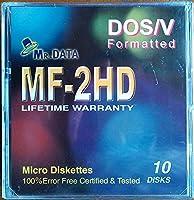 CMC(MR.DATA) 3.5インチ フロッピーディスク Windows DOS/Vフォーマット 10枚入