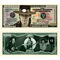 Stevie Ray Vaughan Million Dollar Bill Collectible in Currency Holder [並行輸入品]