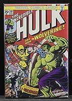The Incredible Hulk # 181コミックブックカバー–冷蔵庫マグネット。