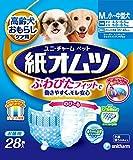 ユニ・チャームペットケア ペット用紙オムツ Mサイズ 小~中型犬 28枚入