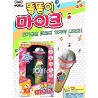MIMI WORLD ddol ddoly Microphone, Korean Toy, Children Kids Educational Toys Pretend Role Play Toy,Korean Animation