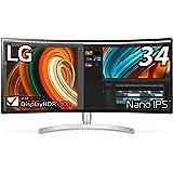 LG モニター ディスプレイ 34WK95C-W 34インチ/3440×1440ウルトラワイド/Nano IPS/HDR400/FreeSync/スピーカー/USB Type-C、HDMI×2、DP