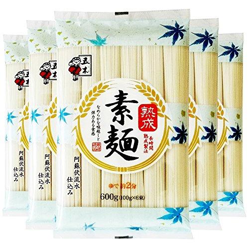 五木食品 五木 五木食品 熟成素麺 600g