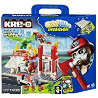 [KRE-O]KRE-O CityVille Invasion Fire Station Dragon Attack Set A3248079 [並行輸入品]