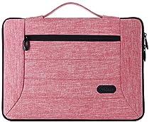 ProCase 13-13.5インチ Laptop用スリーブ ケース カバー バッグ MacBook Pro Air Surface Book 12、13インチのLaptop Ultrabook Notebook MacBook Chromebook対応 –ピンク