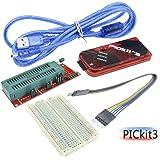 DiyStudio 40ピンNarrow ICテストソケットボード PICkit3 PIC KIT3チューナーエディタエミュレータPICコントローラー開発版 PICKIT2互換品 PIC マイコン ライター