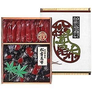 京丹波佃煮 直火釜戸炊き 松茸昆布 木箱 MS50 松茸昆布410g + 松茸しぐれ煮90g