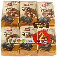 韓国のり・ヤンバン海苔 1BOX(5g * 36袋) 胡麻油海苔 韓国産 最低価格 人気商品 韓国味付けのり 格安 超特価 BIGセール 速い配送