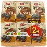 韓国のり・ヤンバン海苔 1BOX(5g * 48袋) 胡麻油海苔 韓国産 最低価格 人気商品 韓国味付けのり 格安 超特価 BIGセール 速い配送