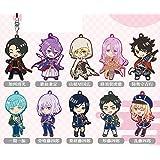 刀剣乱舞-ONLINE- ちび刀剣男士ラバーストラップコレクション 第一弾 BOX商品 1BOX=12個入り、全10種類