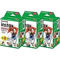 富士フィルム チェキフィルム instax mini 2パック品 JP2(20枚入り)×3個セット [60枚入]