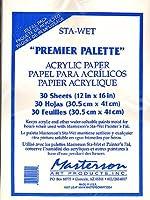 マスターソンPremierアクリル紙とリフィルスポンジ30個パックアクリル用紙リフィル[ Pack of 2]