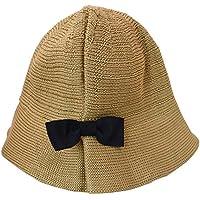 MORA 帽子 赤ちゃん向け かわいい蝶結び綿麻新生児ベビー赤ちゃんキッズバケットハット 日焼け対策吸水通園お出かけ海辺プール運動会旅行サンハット 子供男女兼用柔らかくて日よけ帽子