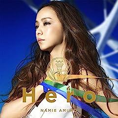 安室奈美恵「Hero」のCDジャケット