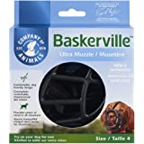 The Company of Animals Baskerville Ultra Dog Muzzle, Size 4, Black (MBU04)