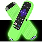 Silicone Case for Roku Express/Streaming Stick Remote Non-Slip Shockproof Protective Cover for Roku Express(3900)/Express+(39
