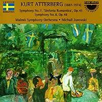 Atterberg: Symphony No. 7 / Symphony No. 8 (1998-12-02)
