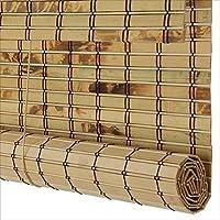 WUFENG 竹カーテン 陰影 防水 防カビ パーティション ティールーム バルコニー インドア アウトドア 3色 20サイズ カスタマイズ可能 (色 : B, サイズ さいず : 160x225cm)