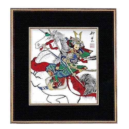 [해외][오 하타의 무사 그림] 단오절 금액 [금액 그림] 젊은 무사 액 [38 × 41cm] No.17 [인테리어] [일본의 전통 문화] [오월 인형]/[Okata`s Warrior Pain] Farewell Festival Amount [Framed Painting] Waka Wrestler Amount [38 × 41 cm] No. 17 [In...