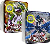 YuGiOh ZEXAL 2011 Wave 1 Set of Both Holiday Tin Sets Number 17 Leviath Dragon WindUp Zenmaister