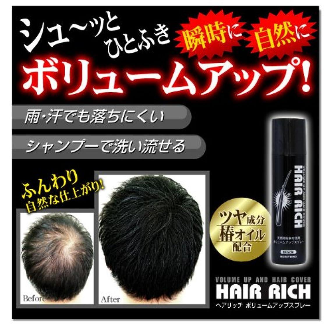 パーティションブラウスまともな【5本セット】ヘアリッチ ボリュームアップスプレー【HAIR RICH】 育毛剤 発毛剤 増毛剤 増毛 スプレー