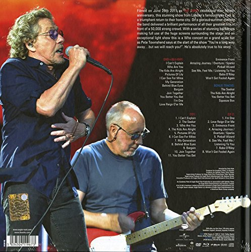 Live In Hyde Park: Deluxe Edition (2CD+DVD+Blu-Ray)