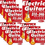 "Ikebe Original Electric Guitar Strings ""イケベ弦 エレキギター用 010-046"" [Regular Light Gauge/IKB-EGS-1046]×10セット"
