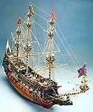 MT787 輸入木製帆船模型 マンチュアモデル ソブリン オブ ザ シーズ