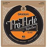 D'Addario EJ43 Pro-Arte Nylon Classical Guitar Strings, Light Tension