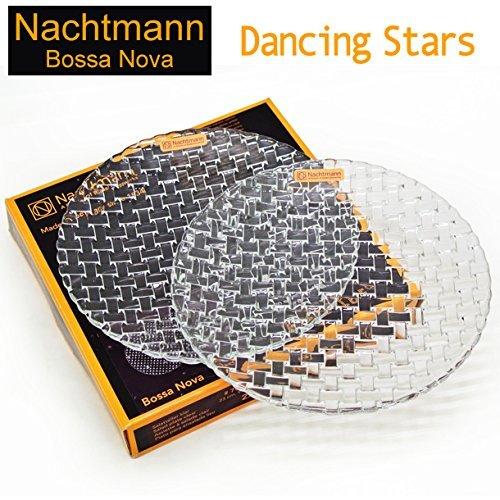 (ナハトマン) Nachtmann ダンシングスターズ ボサノバ サラダプレート 23cm ペア 2枚入り 98036 (38233463) [並行輸入品]