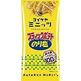 スリムバッグシリーズ コイケヤミニッツ スティックポテト のり塩 40g x 6袋